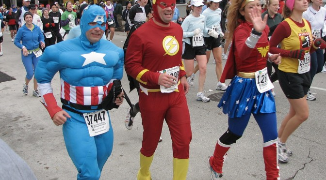 Ako zvládnuť maratón - pretek